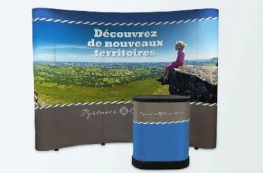 creation impression stand amovible meximieux ain rhone isere